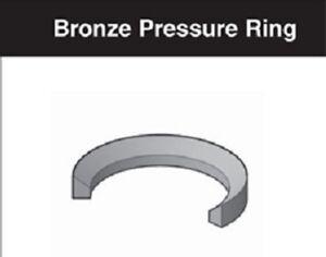 """Miller Cylinder 1"""" Rod Bronze Pressure Ring 051-PG001-100, FOR A,C,J,M,H & HV"""