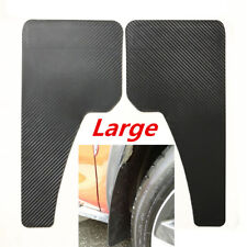 2x Large ABS Auto Car Mudguard Moulding Fender Wheel Splash Guard Mudflap Custom