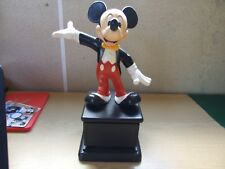 "Disney Mickey Mouse Mousecar Cast Member Award Statue  12.5"" height   Rare!!!"
