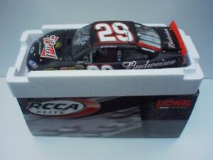 Kevin Harvick Budweiser Elite 1/24 scale signed!