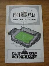 02/12/1967 Port Vale v Barnsley  (Heavy Printers Error Mark On covers, Stained)