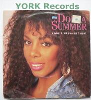 "DONNA SUMMER - I Don't Wanna Get Hurt - Ex Con 7"" Single Warner Brothers U 7567"