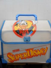 Cartella Paperinik Scuola Masked Bag Vintage Disney LEATHER SATCHEL School