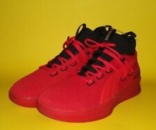 PUMA Men's Clyde Court Meek Mill Reform BasketBall Red Shoes 19346101 NEW! Sz 11