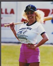MORGANNA  ROBERTS THE KISSING BANDIT baseball's unofficial mascot 8 X 10 PHOTO 2