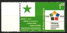 Bosnia 2008 100 Years of the World Esperanto MNH**