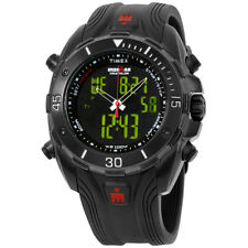 Timex Ironman Black Dial Silicone Strap Men's Watch T5K405