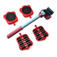 Furniture Lifter Heavy Roller Move Tool Set Moving Wheel Mover Sliders Kit