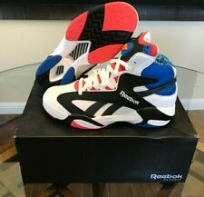 2871b35598bf NIB Reebok Shaq Attaq SP Superman Pump All Star White Red Blue CN5728 Size  8.5
