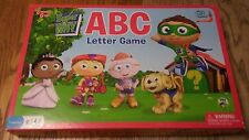 (255) Super Why ABC Letter Game By University Games ~ 100% Complete