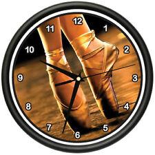 BALLET SHOES Wall Clock dance ballet shoes dancer tutu performer gag gift