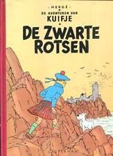 RARE. HERGE: TINTIN EN FLAMAND. DE ZWARTE ROSTSEN. 1987. Cartonné. Fac-similé.