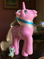 Vtg G1 My Little Pony TWICE AS FANCY MILKY WAY - Nirvana, German, Painted Stars