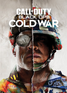 Call of Duty Black Ops Cold War Video Game Poster Art Print Wall Home Room Decor