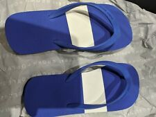 Orlebar brown blue and White Flipflop