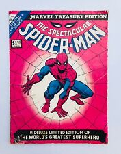 MARVEL TREASURY EDITION #1 VG+ Comic SPECTACULAR SPIDERMAN US COPY 1974