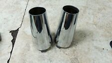 06 Kawasaki VN2000 F VN 2000 Vulcan upper top fork tube shock covers