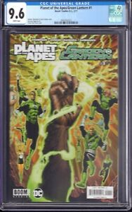 Planet of the Apes/Green Lantern #1 (Boom Sudios!-D.C., 2017) CGC 9.6