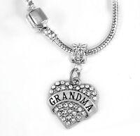 Grandma Necklace Grandma Gift Grandmother chain Grandma Present mothers day