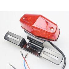Lucas Style LED Stop Brake Tail Light Fit Cafe Racer Triumph Vintage 525 Chopper