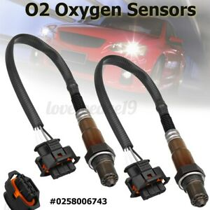 🔥 2x O2 Oxygen Sensor 4 Wire For Holden Commodore V6 3.6L VZ VE LE0 LY7 LW2