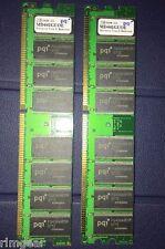 DDR-400 2GB (1GB X 2) PQI MD441GROE  ECC REG