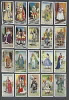 1927 John Player & Sons Gilbert and Sullivan Tobacco Cards Complete Set of 50
