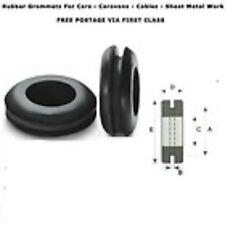 6,9,12,16,20,25,32,38 arandelas de goma y 50mm Cable Automotriz cableado Tubo abierto