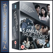 AMAZING TRUE STORIES - 5 DISC BOXSET *BRAND NEW DVD***