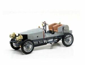 Spyker 60HP Four Wheel Drive Racer (1903) Resin Model Car