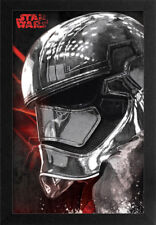 STAR WARS THE LAST CAPTAIN PHASMA 13x19 FRAMED GELCOAT POSTER EPISODE XIII GIFT!