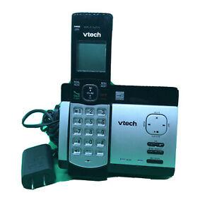 REFURB VTech CS5129 DECT 6.0 DECT 6.0 Expandable Cordless Phone System Black/Sil