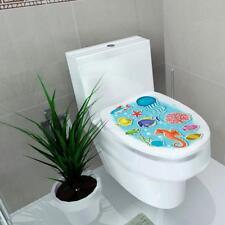 Vinyl Wall Toilet Sticker Art Decal Removable Sea World Home Mural Decor