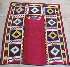 UZBEK SILK HAND EMBROIDERED SUZANI JOYPYSH # 8467