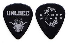 Unloco Ünloco Black Concert-Used Guitar Pick - 2003 Tour