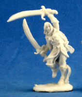 1 x MI-SHER - BONES REAPER figurine miniature jdr rpg ranger rogue dervish 77217