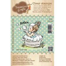 RELAX-Dreamerland Crafts Clear Photopolymer Stamp-Stamping Craft-Bathtime-Tub