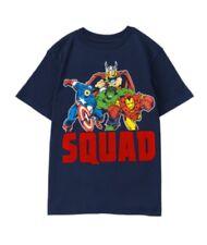 Nwt Gymboree Gymfriends Marvel Comics Avenger Boys Shirt Squad 3t
