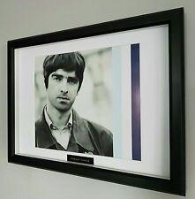 Oasis Framed Original Programme Artwork- Plaque-Certificate-Noel Gallagher
