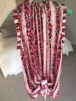 Woman's Elie Tahari Silk Floral Blouse- Sleeveless, Sz XS, Multi Colored