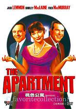 The Apartment (1960) - Jack Lemmon, Shirley MacLaine, Fred MacMurray - DVD NEW