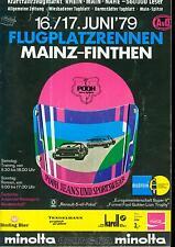 Programme 1979 AVD/HMSC aerodrome Race Mainz Finthen-DRM Formula v Ford Capri