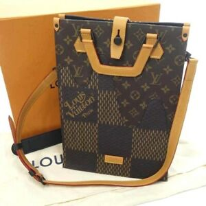 Louis Vuitton NIGO Mini Tote Bag N40355 Shoulder Virgil Abloh Auth New w receipt