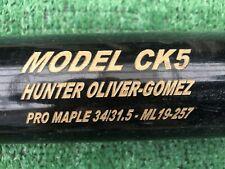 CINCINNATI REDS HUNTER OLIVER - GOMEZ GAME USED BASEBALL BAT
