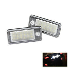 For Audi A3 8P A4 S4 B6 B7 A6 4F A8 8E 4H Q7 Led License Number Plate Light Lamp