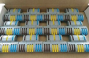 12 X Wago style High Quality 3 in 9 out straight Terminal Electrical Junction