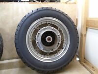 Honda 450 CMX REBEL CMX450 Rear Wheel Rim 1986 HB539 HW100