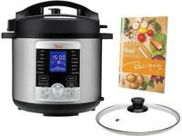Rosewill RHPC-19001 6 Qt Electric Pressure Cooker 10-in-1 Multicooker, Slow Cook