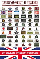 Rubber Airsoft Military Tactical PVC Patch Patches Badge Badges: Listing 2