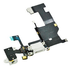 iPhone 5 5G USB Dock Connector Flex Kabel, Audio Jack, Mikrofon weiß weiss NEU